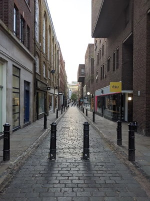 Covent Garden, London in lockdown